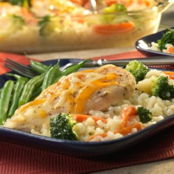Photo of Easy Baked Chicken and Rice Casserole by Campbell's Kitchen