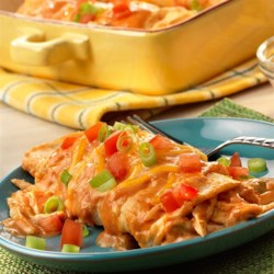 Lightened-Up Chicken Enchiladas Recipe