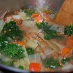 Carrot, Potato, and Cabbage Soup Recipe