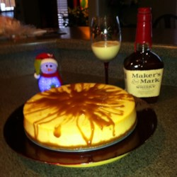 Kim's Eggnog Cheesecake Recipe