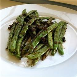 Chinese Green Bean Stir-Fry