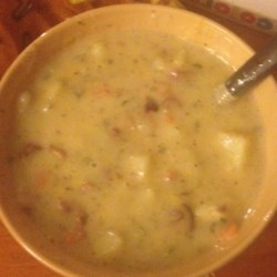 Cream of Potato Soup I Recipe