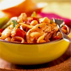 Leah's Chicken with Chickpeas