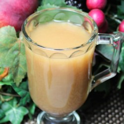 Hot Carmel Apple Juice