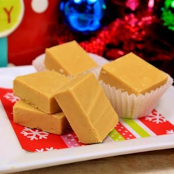 2-Ingredient Peanut Butter Fudge