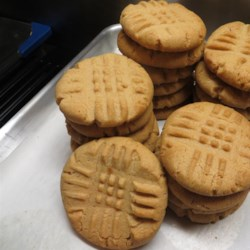 classic peanut butter cookies printer friendly