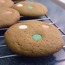 Chewy White Chocolate Chip Gingerbread Cookies Recipe