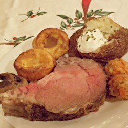 Cast-Iron Skillet Prime Rib Roast and Gravy Recipe