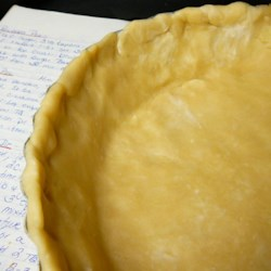 Flaky Food Processor Pie Crust Recipe