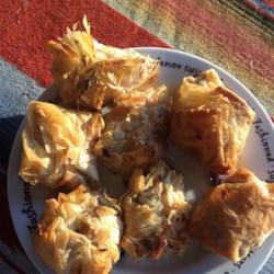 Crabby Cliff's Mushroom Puffs Recipe