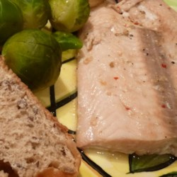 Orange Salmon with Creole Seasoning Recipe