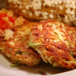 "Connie's Zucchini ""Crab"" Cakes Recipe"