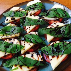 Caprese Salad with Balsamic Reduction Recipe