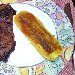Baked Delicata Squash with Lime Butter