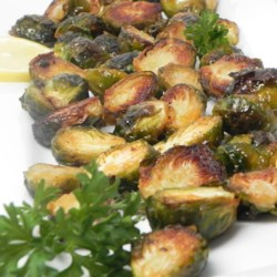 Roasted Brussels Sprouts with Agave and Spicy Mustard Recipe