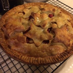 Mom's Cranberry Apple Pie Recipe