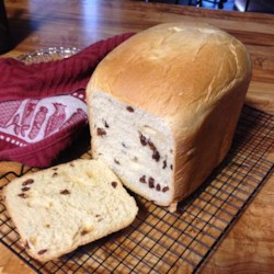 Cinnamon Raisin Bread II Recipe
