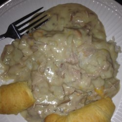 Slow Cooker Turkey and Potatoes
