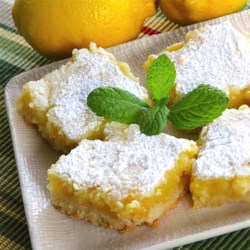 White Chocolate Lemon Bars Recipe