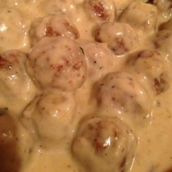 Easy Swedish Meatball Sauce  Recipe