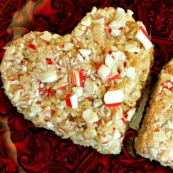 Peppermint Rice Crispies Squares Recipe