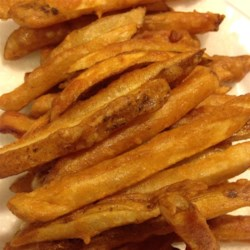 Homemade Crispy Seasoned French Fries Recipe