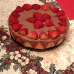 Chocolate And Strawberry Cake Images