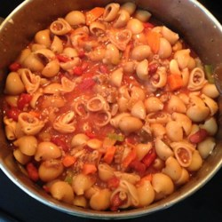 Easy Pasta Fagioli Recipe