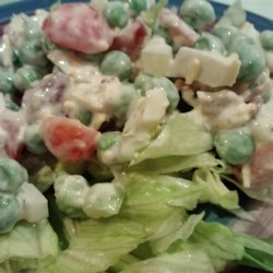 Seven Layer Mixed Up Salad Recipe