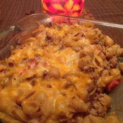 Cheeseburger Noodle Casserole Recipe