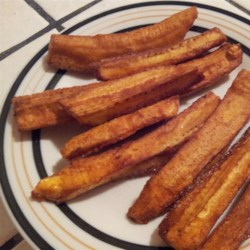 Green Banana Fries Recipe
