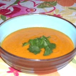 African Sweet Potato and Penut Soup