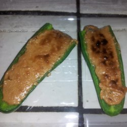 Peanut Butter Stuffed Jalapenos Recipe