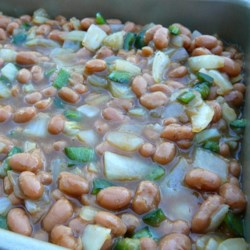 Asian Style Spicy Baked Beans Recipe
