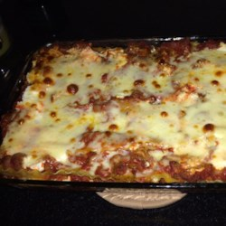 Healthier world s best lasagna recipe allrecipes com
