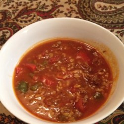 Stuffed Pepper Soup I Recipe