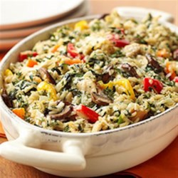 Photo of Creamy Chicken-Vegetable Casserole by Tyson Chicken