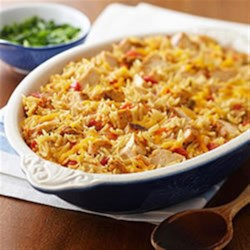 Zesty Chicken Orzo Casserole Recipe