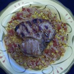 Pork Chop Skillet Meal