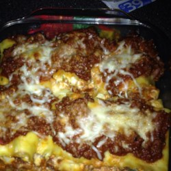 Lasagna Roll Ups II  Recipe