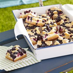 Photo of Lemon-Blueberry Crumb Bars by Philadelphia