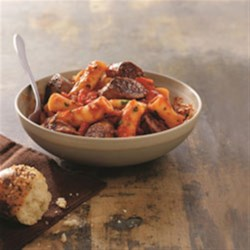 Photo of Johnsonville Italian Sausage Rigatoni  by From the Kitchen at Johnsonville Sausage