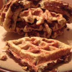 Banana Egg Waffles Recipe