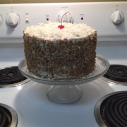 Italian Creme Layer Cake Recipe