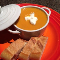 Rockin Carrot, Sweet Potato, and Ginger Soup Recipe