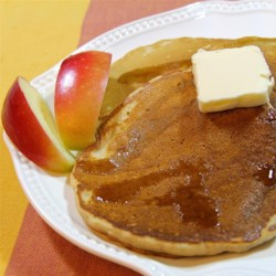 Yummy Apple Cider Pancakes Recipe