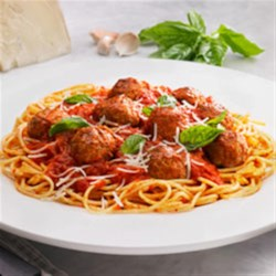 Photo of Johnsonville Classic Meatballs and Spaghetti by The Kitchen at Johnsonville Sausage