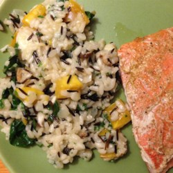 Butternut Squash and Shiitake Mushroom Wild Rice Risotto Recipe
