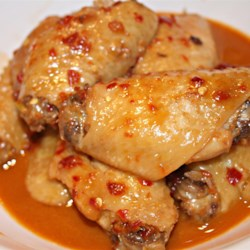Spicy Chinese Chicken Wings Recipe