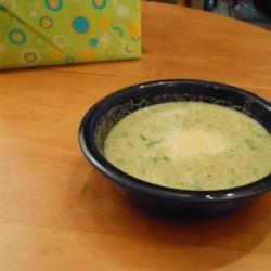 Low Fat Full Flavor Cream of Broccoli Soup Recipe